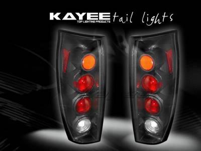 Headlights & Tail Lights - Tail Lights - Custom - JDM Carbon Fiber Taillights