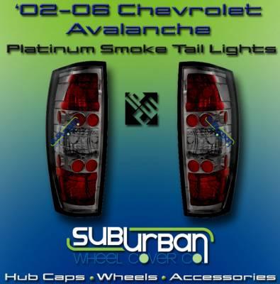 Headlights & Tail Lights - Tail Lights - Custom - Platinum Smoke Altezza Taillights