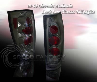 Headlights & Tail Lights - Tail Lights - Custom - Light Smoke Altezza Taillights