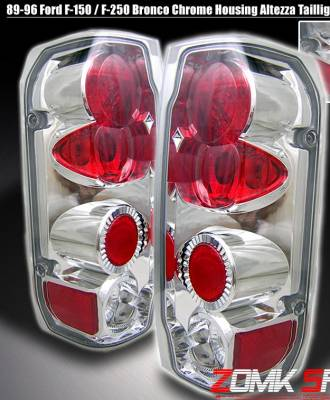 Headlights & Tail Lights - Tail Lights - Custom - Chrome Altezza Taillights