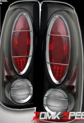 Headlights & Tail Lights - Tail Lights - Custom - Black Depo Altezza Taillights