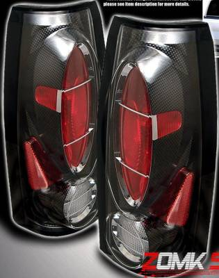 Headlights & Tail Lights - Tail Lights - Custom - Carbon Fiber Depo Taillights