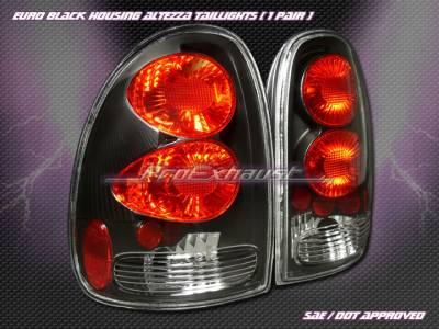 Headlights & Tail Lights - Tail Lights - Custom - Euro Black Altezza Taillights