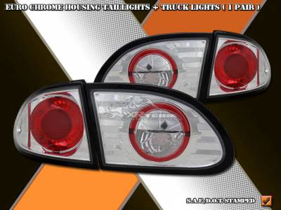 Headlights & Tail Lights - Tail Lights - Custom - Euro Chrome Altezza Taillights