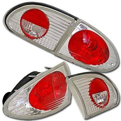 Headlights & Tail Lights - Tail Lights - Custom - Clear Altezza Taillights