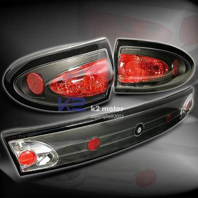 Headlights & Tail Lights - Tail Lights - Custom - Euro Black Taillights
