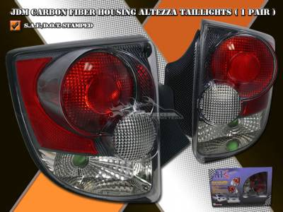 Headlights & Tail Lights - Tail Lights - Custom - 3D Carbon Fiber Altezza Taillights