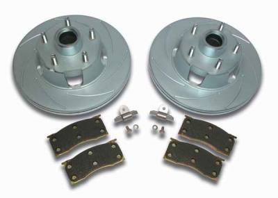 Brakes - Custom Brake Kits - SSBC - SSBC Turbo Slotted Rotors & Pads - Front - A2360000