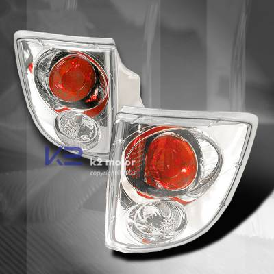 Headlights & Tail Lights - Tail Lights - Custom - Chrome Housing Euro Altezza Taillights