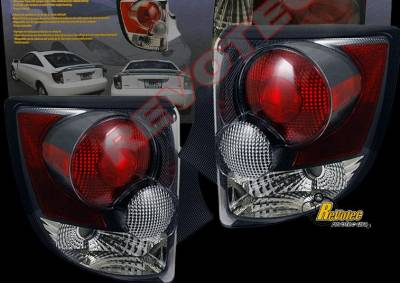 Headlights & Tail Lights - Tail Lights - Custom - Black Euro Taillights