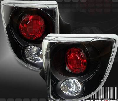 Headlights & Tail Lights - Tail Lights - Custom - Black Euro Altezza Taillights