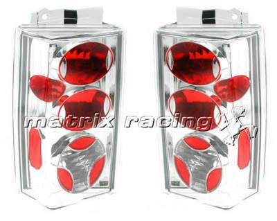 Headlights & Tail Lights - Tail Lights - Custom - Chrome Altezza Taillights