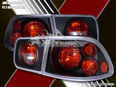 Headlights & Tail Lights - Tail Lights - Custom - Black Housing Altezza Taillights