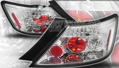 Headlights & Tail Lights - Tail Lights - Custom - Chrome Euro Taillights