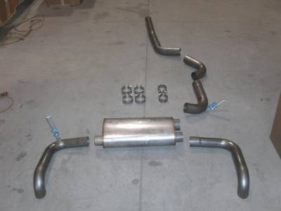 Exhaust - Custom Fit Exhaust - Stainless Works - Pontiac Firebird Stainless Works Exhaust System - 829239