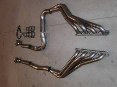 Exhaust - Custom Fit Exhaust - Stainless Works - Jeep Grand Cherokee Stainless Works Header & Exhaust System - 607533767BT