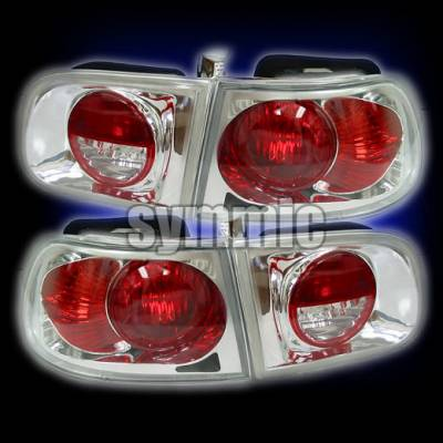Headlights & Tail Lights - Tail Lights - Custom - Chrome Euro Altezza Taillights