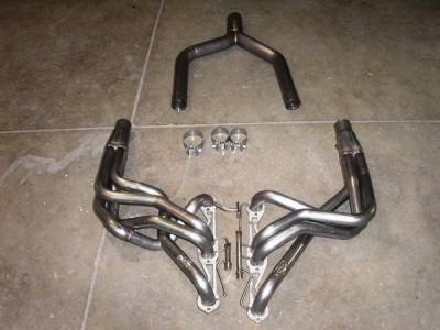 Exhaust - Custom Fit Exhaust - Stainless Works - Chevrolet Corvette Stainless Works Header & Exhaust System - C48591