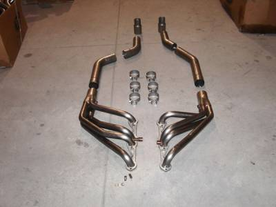 Exhaust - Custom Fit Exhaust - Stainless Works - Chevrolet Corvette Stainless Works Header & Exhaust System - C492-96