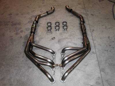 Exhaust - Custom Fit Exhaust - Stainless Works - Chevrolet Corvette Stainless Works Header & Exhaust System - C492-96OR