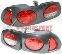 Headlights & Tail Lights - Tail Lights - Custom - Black Carbon Taillights