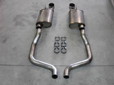 Exhaust - Custom Fit Exhaust - Stainless Works - Chevrolet Corvette Stainless Works Cat-Back Exhaust System - C6CBS