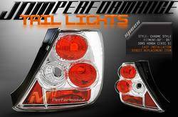 Headlights & Tail Lights - Tail Lights - Custom - Chrom Housing Euro Altezza Taillights