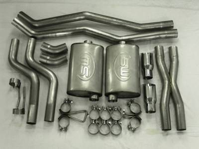 Exhaust - Custom Fit Exhaust - Stainless Works - Chevrolet Camaro Stainless Works Header & Exhaust System - CA10V6CB