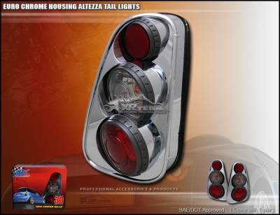 Headlights & Tail Lights - Tail Lights - Custom - 3D Chrome Taillights
