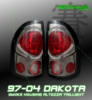 Headlights & Tail Lights - Tail Lights - Custom - Euro Smoke Altezza Taillights