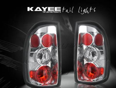 Headlights & Tail Lights - Tail Lights - Custom - JDM Chrome Taillights