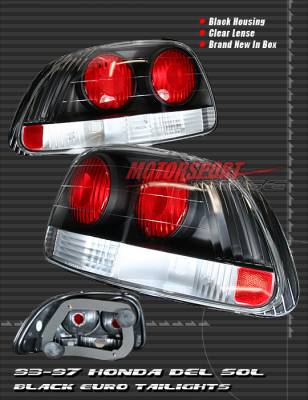 Headlights & Tail Lights - Tail Lights - Custom - JDM Black Skyline  Altezza Taillights