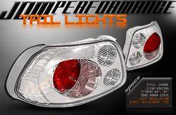 Headlights & Tail Lights - Tail Lights - Custom - Chrome Clear Housing Altezza Taillights
