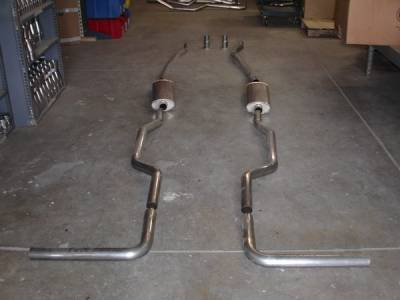 Exhaust - Custom Fit Exhaust - Stainless Works - Chevrolet CK Truck Stainless Works Exhaust System - CT67725TS