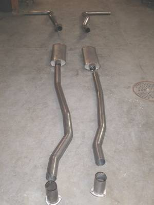 Exhaust - Custom Fit Exhaust - Stainless Works - Chevrolet CK Truck Stainless Works Exhaust System - CT6773CS