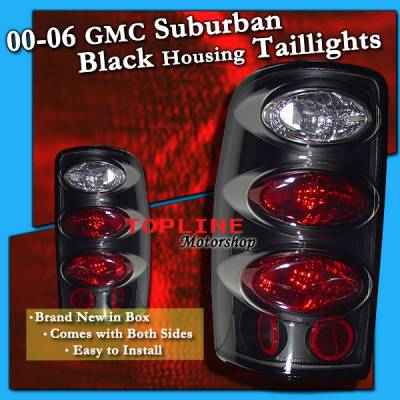 Headlights & Tail Lights - Tail Lights - Custom - Euro Black Taillights
