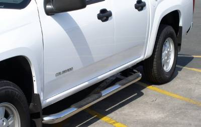 Suv Truck Accessories - Running Boards - Aries - Hyundai Santa Fe Aries Sidebars - 3 Inch
