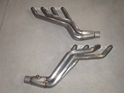 Exhaust - Custom Fit Exhaust - Stainless Works - GMC Yukon Stainless Works Header & Exhaust System - CTTHB