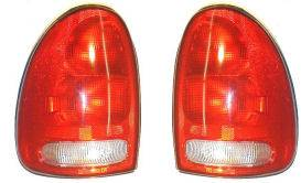 Headlights & Tail Lights - Tail Lights - Custom - Red Clear Taillights