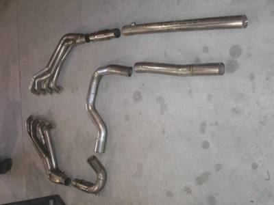 Exhaust - Custom Fit Exhaust - Stainless Works - GMC Yukon Stainless Works Header & Exhaust System - CTTHCAT