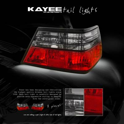 Headlights & Tail Lights - Tail Lights - Custom - Smoked Red Taillights