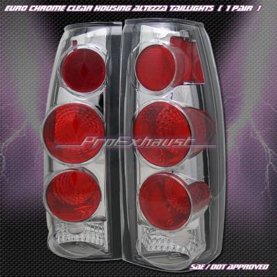 Headlights & Tail Lights - Tail Lights - Custom - 3- D  Chrome  Altezza Taillights