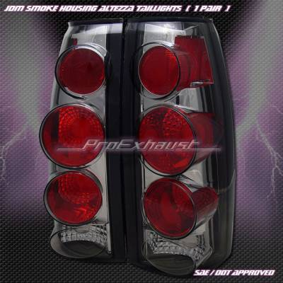 Headlights & Tail Lights - Tail Lights - Custom - 3- D  Smoke  Altezza Taillights