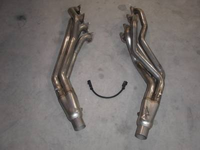 Exhaust - Custom Fit Exhaust - Stainless Works - Ford F150 Stainless Works Header & Cat-Back Exhaust System - FT05