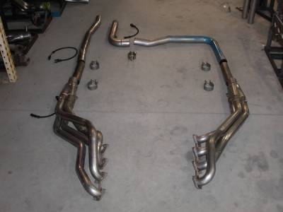 Exhaust - Custom Fit Exhaust - Stainless Works - Ford F150 Stainless Works Header & Cat-Back Exhaust System - FT05OR