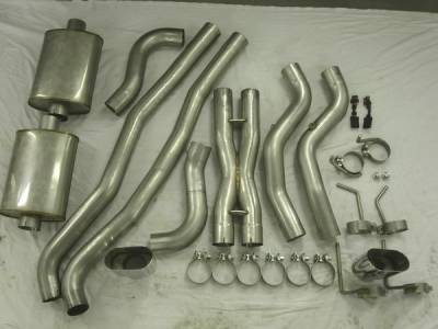 Exhaust - Custom Fit Exhaust - Stainless Works - Pontiac G8 Stainless Works Header & Exhaust System - G8HCB