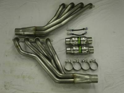 Exhaust - Custom Fit Exhaust - Stainless Works - Pontiac G8 Stainless Works Header & Exhaust System - G8HDRCAT