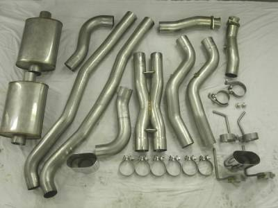 Exhaust - Custom Fit Exhaust - Stainless Works - Pontiac G8 Stainless Works Header & Exhaust System - G8MCB
