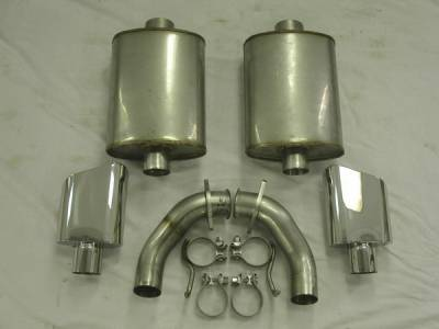 Exhaust - Custom Fit Exhaust - Stainless Works - Pontiac G8 Stainless Works Header & Exhaust System - G8MKL