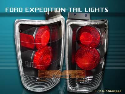 Headlights & Tail Lights - Tail Lights - Custom - Black Taillights